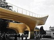 Eines der Highlights: Die Holzbrücke über den Margaretengürtel