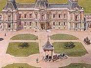 Entwurf zur Hermesvilla, 1881, von Carl von Hasenauer