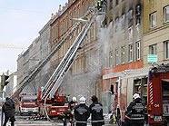 Hausbrand in Margareten