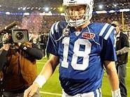 Colts-Quarterback Peyton Manning setzt ligaweit die Standards