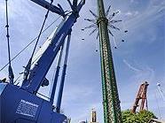 Das höchste Karussell steht nun im Wiener Prater