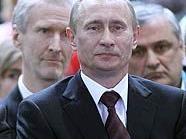 Wladimir Putin und Norbert Darabos bei der Judo-EM im Dusika-Stadion in Wien