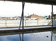 "Ausblick über die Dächer Wiens vom ""Shangri-La"""