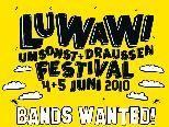 Bis zum 8. Mai 2010 können sich noch Bands für das heurige LuWaWi-Festival bewerben.