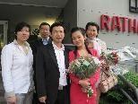 Lin Jie und Hu Meifang feierten Hochzeit