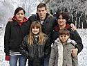 Arigona mit Mutter und Geschwistern