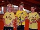Auch Nicolas, Florian und Luca gehören zum Junior-Rabbit-Team 2010.