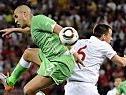 England tat sich gegen Algerien schwer