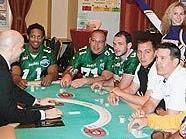 Football-Derby am Pokertisch: Danube Dragons gegen Raiffeisen Vikings