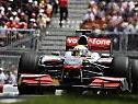 Hamilton ließ Teamkollege Button hinter sich