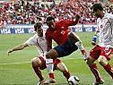 Hart umkämpfte Punkte gingen am Ende nach Chile