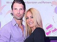 Irene Mayer und Christian Duhovich bei der Aftershowparty im Le Meridien