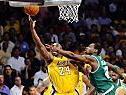 Kobe Bryant war einmal mehr Zünglein an der Waage