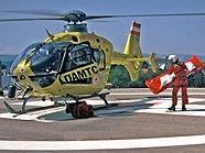 Rettungshubschrauber-Einsatz in Simmering