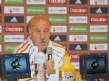 Spanien Teamchef Vicente del Bosque hofft auf den WM-Titel.