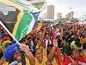 Südafrikas Fans lassen sich Party nicht vermiesen
