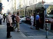 Unfallort in der Kaiserstraße