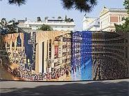 Aus 17.352 Einzelaufnahmen wurde ein 32 Meter langes Panoramabild.