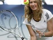 Die ehemalige Sportlerin Steffi Graf mag nicht zu viele Muskeln