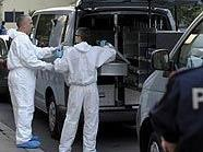 Spurensicherung am Tatort in Wien-Hietzing