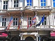 Touristen residieren gerne in Wien.