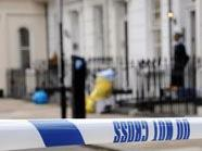 "Am Tatort ""Derney Street"" in Pimlico, London"