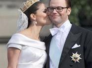 Die schwedische Kronprinzessin Victoria und ihr Ehemann, Prinz Daniel, sind wieder in Schweden