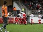 Galavorstellung von FC Dornbirn gegen Goliath Wiener Neustadt.