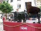 Stefan Hladik bot das erste fahrende Konzert in Dornbirn.
