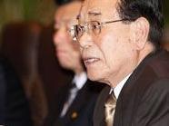 Stellvertretende Machthaber Nordkoreas, Kim Yong Nam