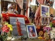 Gedenkfeier für den erschossenen Guru (Archivbild)