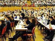 Gelöste Stimmung beim Psycho-Test der Uni-Wien