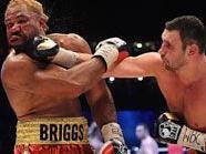 Briggs zeigte große Nehmerqualitäten
