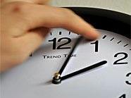 Die Uhren wurden um eine Stunde zurück gestellt.
