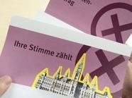 Mit einer Wahlkarte kann man am Wahltag in einem beliebigen Wiener Wahlkarten-Wahllokal oder alternativ per Briefwahl im In- und Ausland wählen. Im Bild: Ein Wahlkarten-Antrag