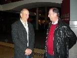 Professor Kenneth J Lacovara im Gespräch mit Prof. Wolfgang Kremser von der Fachhochschule Vorarlberg.