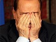 Silvio Berlosconi ist das Lachen vergangen.