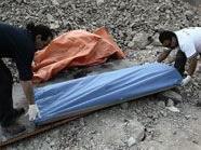 Bergungsarbeiten beim illegalem Bergwerk