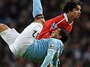 City und United trennten sich im Manchester-Derby mit einem 0:0