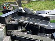 Der Schaden am Meidlinger Friedhof ist groß.