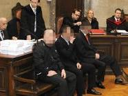 Prozess gegen drei Männer wegen Mordes im Fall Israilov im Grossen Schwurgerichtssaal des Wiener Landesgerichts