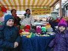 Beim Nikolausmarkt gab es viel Handgearbeitetes.