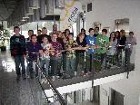 Die Klasse 3b der VMS Dornbirn Markt stattete dem Medienhaus einen Besuch ab.