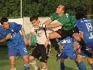 FC Koblach-Goalie Alex Türtscher ist zwischen den Pfosten gesetzt.
