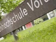 FH Vorarlberg im Mittelpunkt