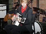 Oliver Wimmer bei der Präsentation seiner neuen Single.