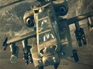 Waffenstarrende Festung der Lüfte: Apache AH-64.