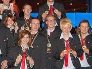 Österreichs Team holte bei der Berufs-EM in Lissabon 10 Gold-, 4 Silber- und 1 Bronzemedaille in Einzelbewerben und je 2 Mal Gold und Silber im Team
