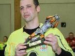 Andreas Morscher wurde zum besten Tormann des Hallenmasters 2011 ausgezeichnet.