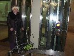 Der Lift am Dornbirner Hauptbahnhof ist wieder voll im Einsatz.